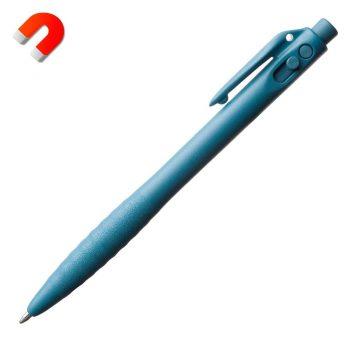 Bolígrafo detectable retráctil con clip
